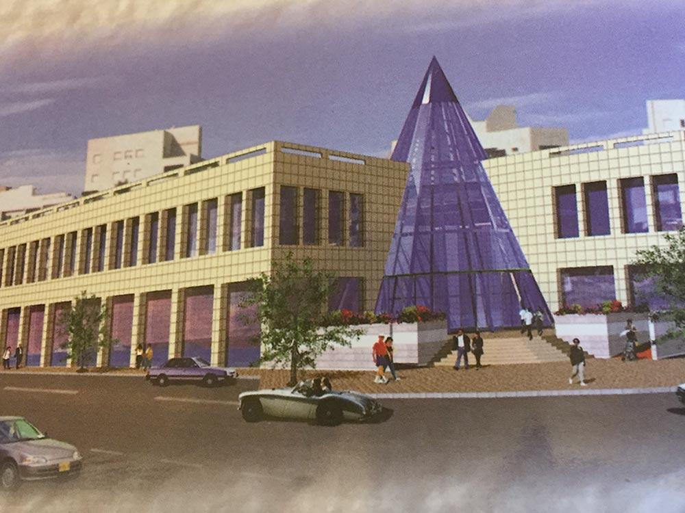 פרויקט מאוכלס במרכז המסחרי חולון