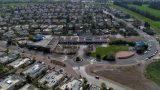 תצלום אוויר שכונתי אחוזת ברק